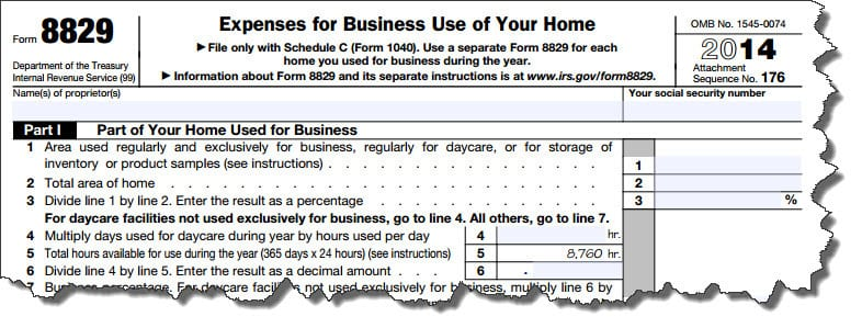 Figure 1: The Simplified Option makes it easier to file for the Home Office Deduction, but it may not be best for your situation. We can help you sort it out.