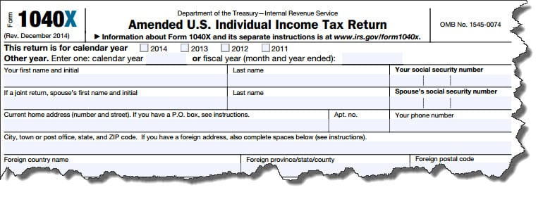 How To File An Amended Tax Return Account Abilities Llc